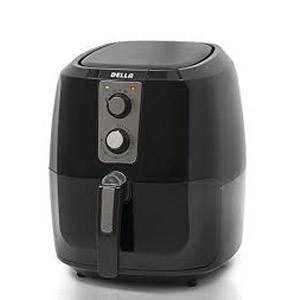 Della XL Electric Air Fryer Button Guard & Detachable Basket - Black 5-8 QT-1800W review