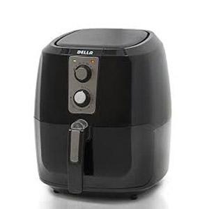 Della XL Electric Air Fryer Button Guard & Detachable Basket - Black 5-8 QT-1800W review